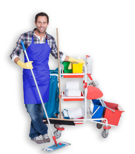 Macs Janitorial Services Guy