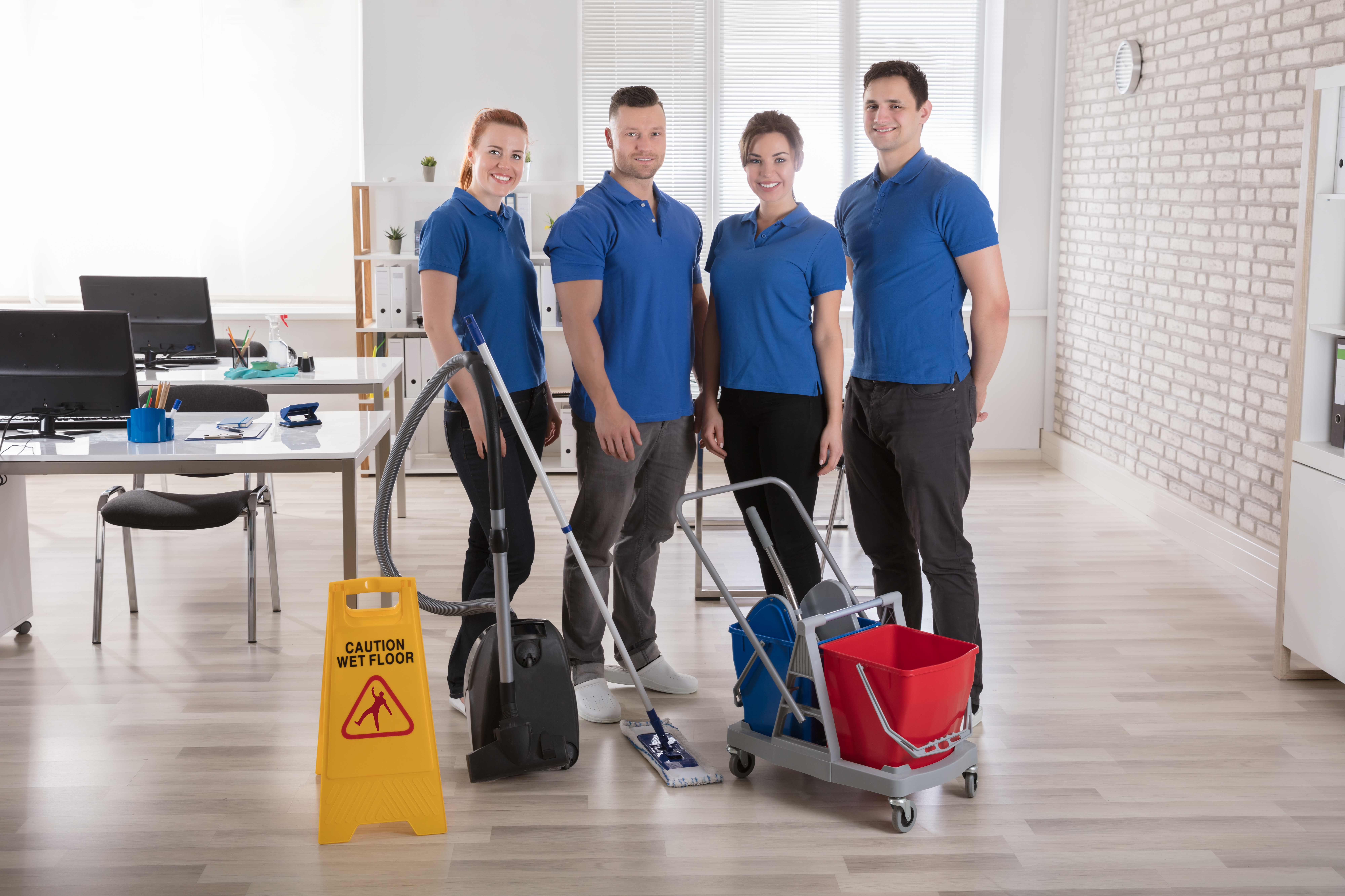 South Jersey's Best Commercial Cleaning Team!